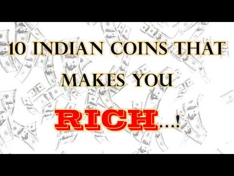 10 Indian coins that makes you rich..!