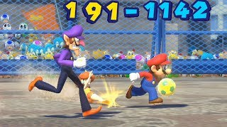 Mario and Sonic at The Rio 2016 Olympic Games Duel Football Waluigi vs Vector , Sonic vs Sliver
