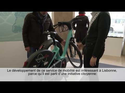 Bordeaux visits the Sharing Cities showroom in Lisbon (FR subtitles)