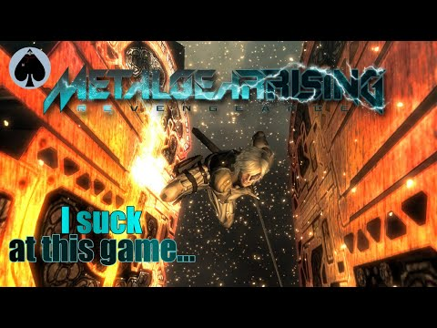 Metal Gear Rising Revengeance - I suck at this game... |