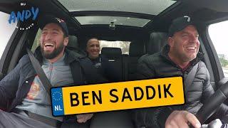 Jamal Ben Saddik - Bij Andy in de auto! ft. Faldir Chahbari