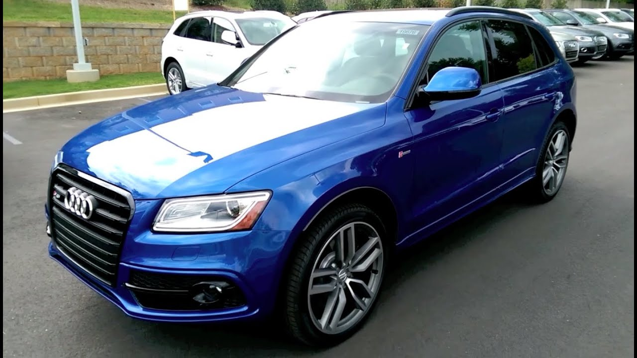 2016 Audi SQ5 USA Quick Drive and Price - YouTube