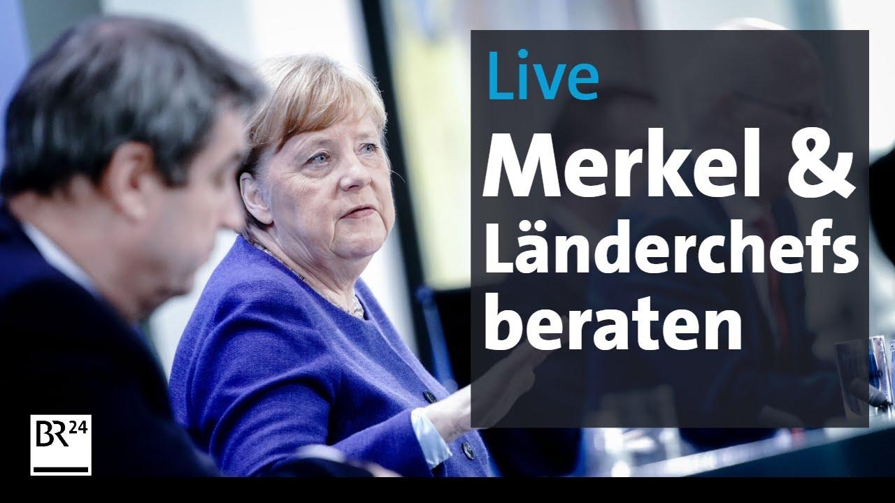 Merkel Söder Pressekonferenz