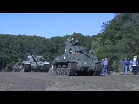 Armor Column Rolls at MoAA