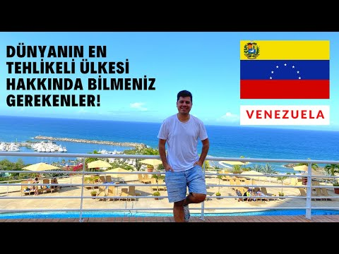 DÜNYANIN EN TEHLİKELİ ÜLKESİ VENEZUELA'YA GİTTİM.VENEZUELA HAKKINDA BİLMENİZ GEREKENLER