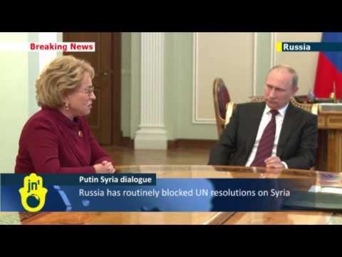 Putin's Syria Proposal: Kremlin strongman mulls sending Russian lawmakers to US for talks
