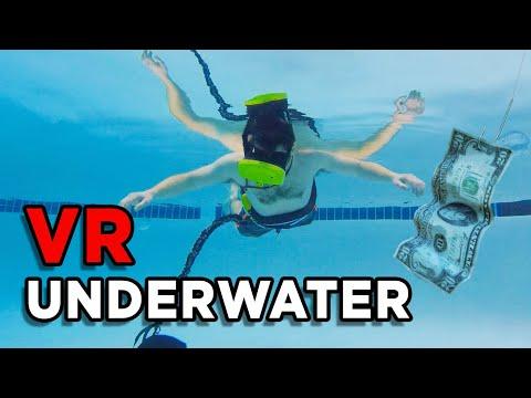 I DID VR UNDERWATER!!! Trippy Waterproof VR Goggles