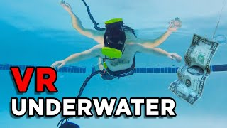 I DID VR UNDERWATER!!! Trippy Waterproof VR Goggles