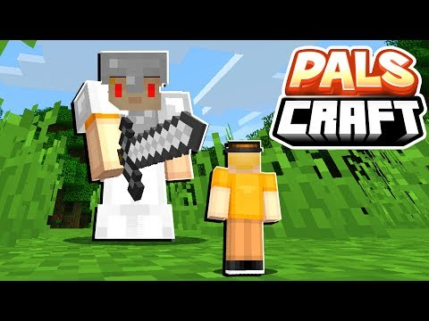 Download Youtube: FIGHT THE GIANT EVIL SKETCH! | PalsCraft #11