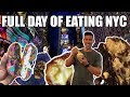 Full Day of Eating in New York City - Cheat Meals - Best Cookies and Ice Cream in NYC