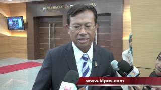 Pembangkang Sengaja Politikkan Laporan Audit Negara - Shabery Cheek 16/10/2012