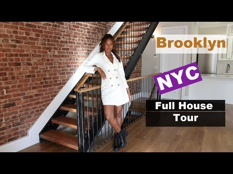 Brooklyn, NYC House Tour 2019!  $8,500 Per Month 5,000 Sqft Luxury New York City Townhouse