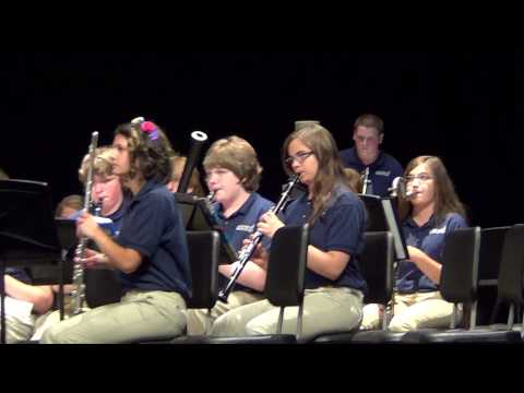 Copy of Hawthorne Brook Middle School - Wind Ensemble  June 2015
