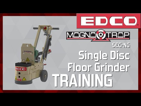 how-to-use-a-magna-trap®-single-disc-concrete-floor-grinder-(sec-ng)---edco