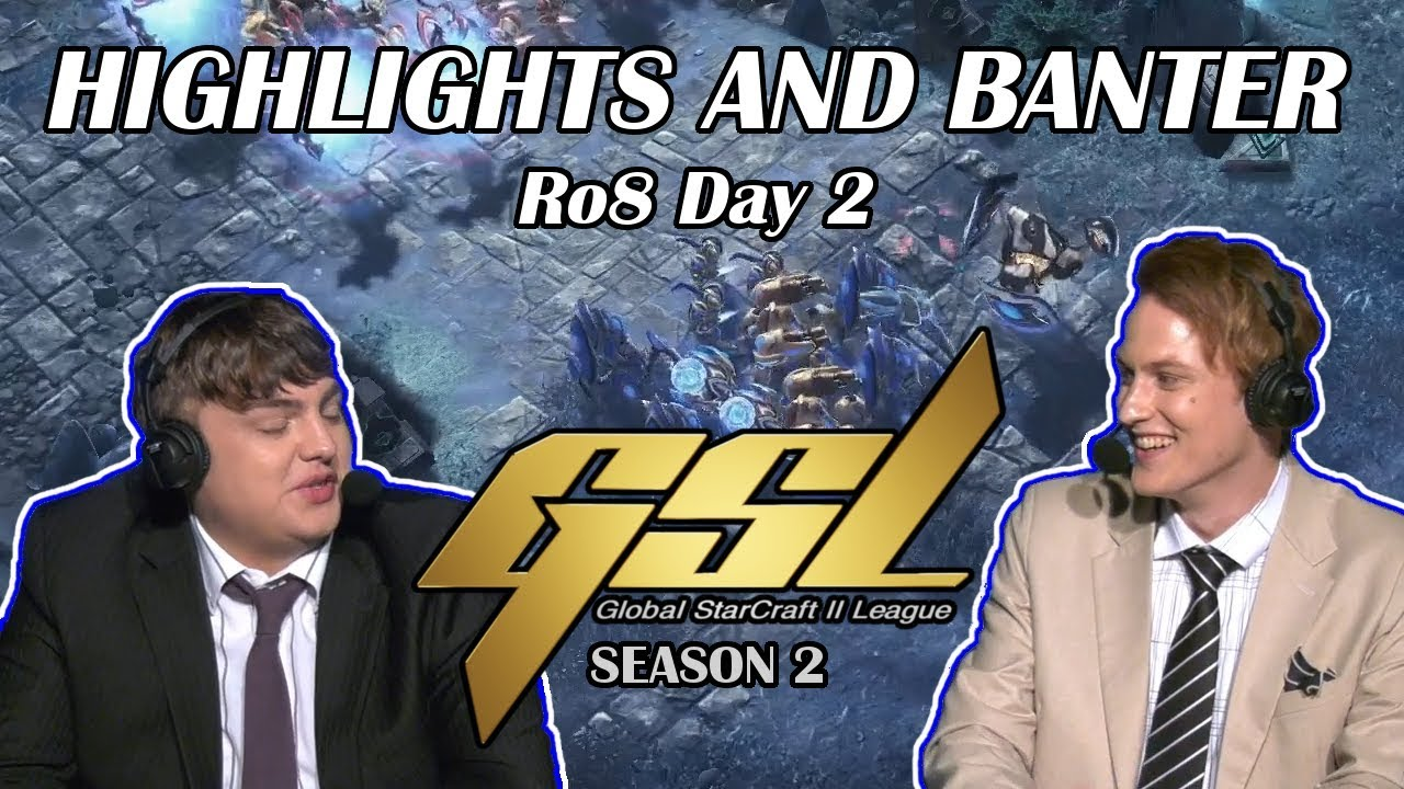 Download NoRegreT and RAPiD - GSL 2019 Season 2 Ro. 8 Day 2 - Highlights and Banter