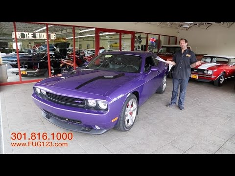 2010 Dodge Challenger SRT8 for sale with test drive, driving sounds, and walk through video