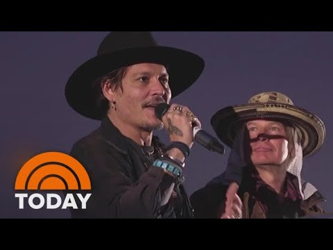 Johnny Depp Under Fire For President Trump Assassination Comments | TODAY