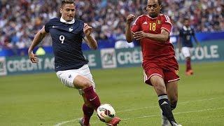 France - Belgique 2015 : 3-4
