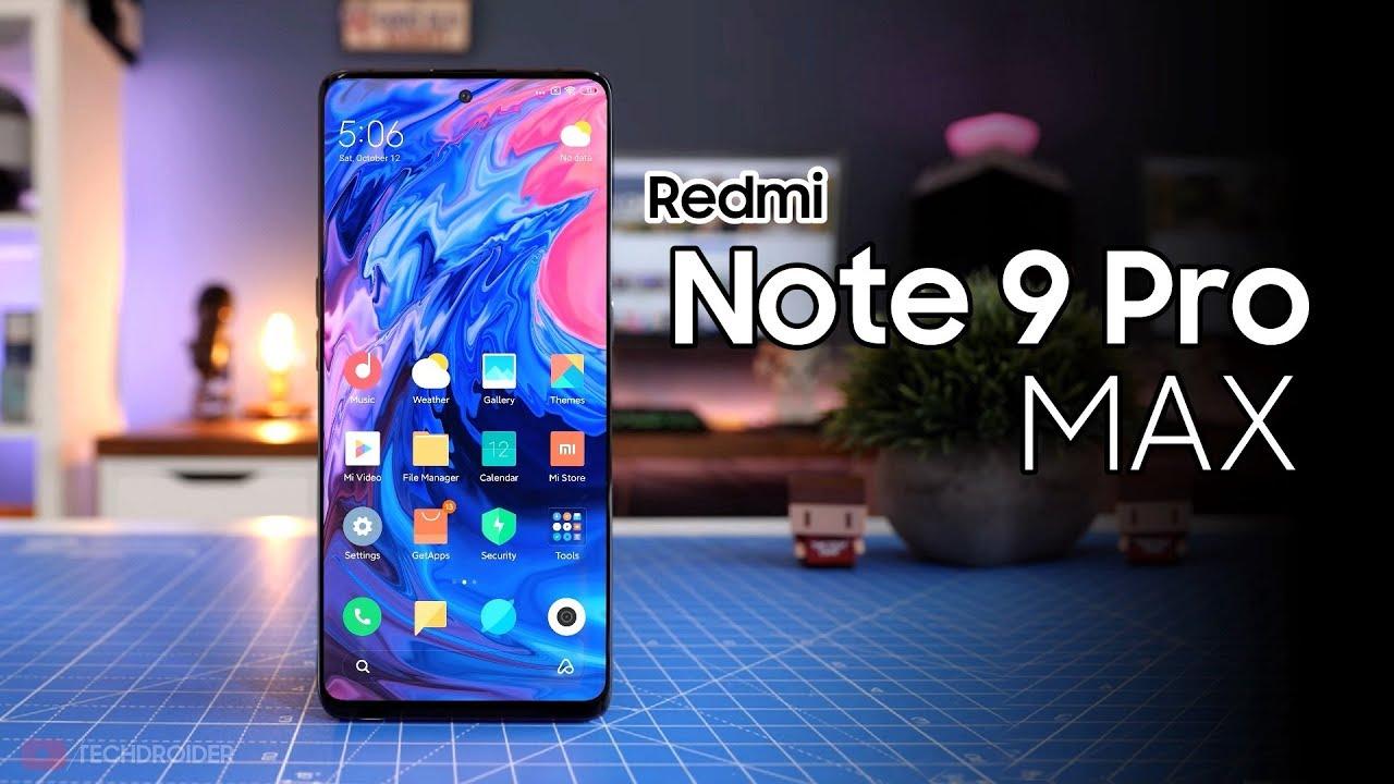 Redmi Note 9 Pro Max - SURPRISE! - YouTube