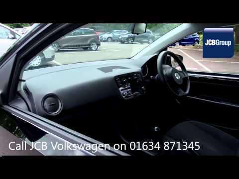2012 Volkswagen UP TAKE UP 1l Deep Black Metallic GJ12UPW for sale at JCB VW Medway