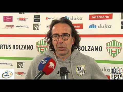 Virtus Bolzano-Virtus Bergamo 1909, 11esima giornata di ritorno Girone B Serie D 2016/2017
