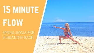 15 Minute Flow for a Juicy Spine!