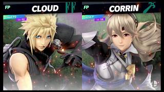 Super Smash Bros Ultimate Amiibo Fights   Request #1423 Cloud vs Corrin Best Husband vs Best Waifu