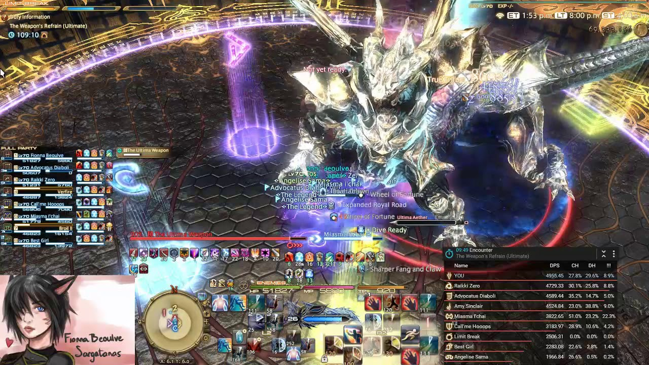 FF14 The Weapon's Refrain (Ultimate) DRG POV 1st clear