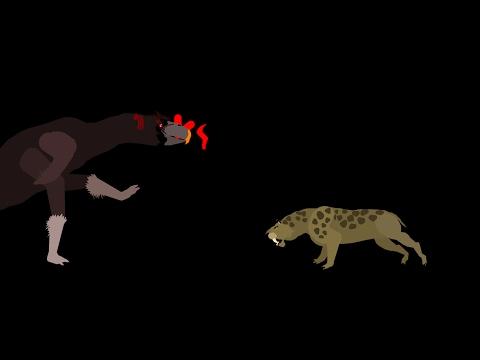 MBA: smilodon vs kelenken (Tirano rex's contest entry)