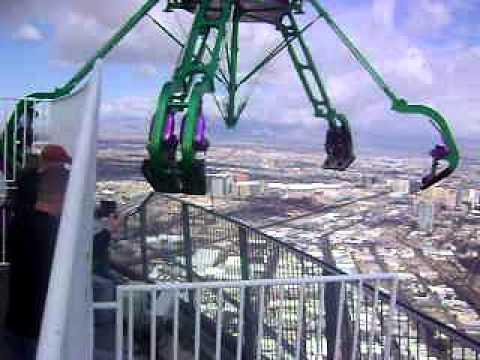 Desde La Torre Stratosphere En Las Vegas Nevada Para