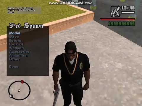 GTA SA Cleo Mod : Scene Maker v.2.0