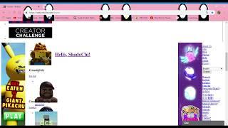 Roblox Website Glitch / Bug - R[]BL[]X IT'S FREE