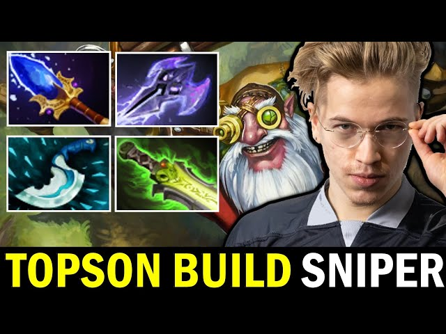 TOPSON Sniper with SIGNATURE Scepter + Ethereal Blade Build