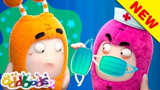 ODDBODS | Check Up At A Clinic  | Cartoons For Children