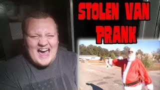 The Angry Grandpa - Stolen Van Prank REACTION!!!