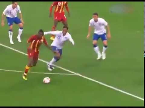 Asamoah Gyan - Top 5 Black Stars goals - 2003 to 2017