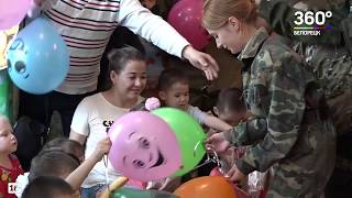 Подарили детям радость