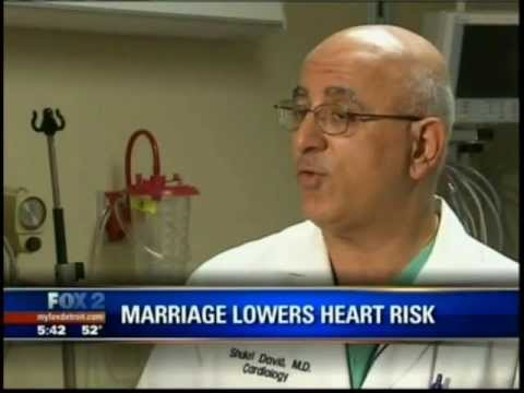 Married people have better heart health