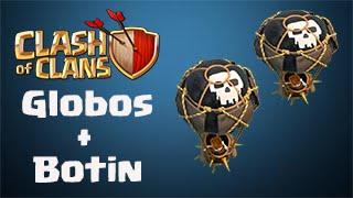 Clash Of Clans - Globos + Botin - Ataques #1