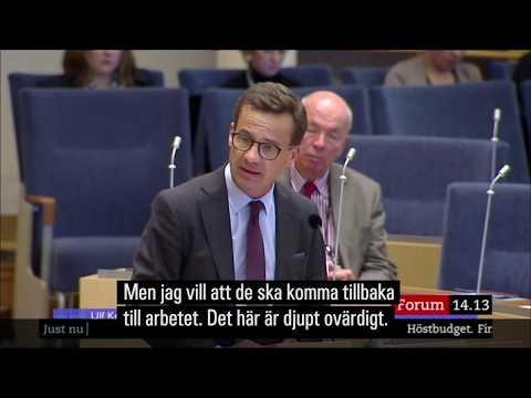 """Ulf Kristersson: """"det har du läst i en kommunistblaska"""""""