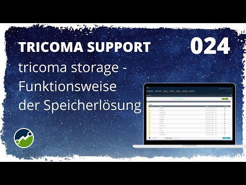 tricoma support #024: Funktionsweise der tricoma storage - So funktioniert der Online Speicherplatz