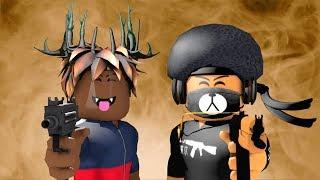 NLE Choppa - Shotta Flow Remix ft. Blueface (Official Roblox Music Video) ft. swagifox