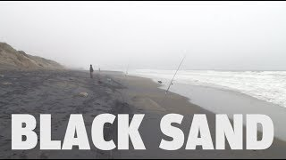 Exploratorium Exhibits | Black Sand at Ocean Beach