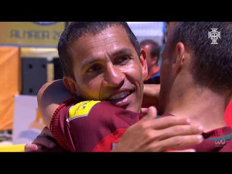 Mundialito Almada - 2018: Portugal 3-3 Espanha (2-1 após penáltis)