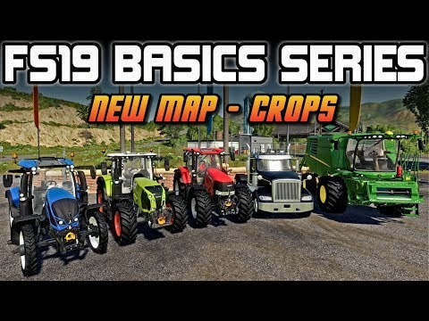 STARTING A NEW MAP - EQUIPMENT FOR DOING CROPS | FARMING SIMULATOR 19