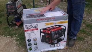 8750 peak 7000 running watts 13 hp 420cc generator
