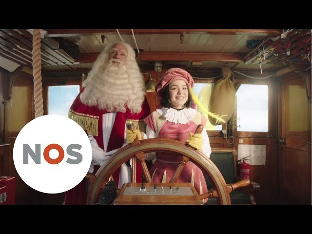 SINTERKLAASJOURNAAL: Witte meisjespiet en Zwarte Piet