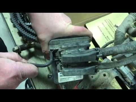 2011 Can-Am Outlander 800 Disconnecting ECU from wiring harness