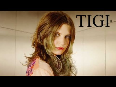 How to Get the Look: Styling Long Layers   TIGI Shift Collection