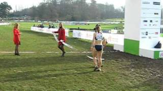 Stephanie Twell wins Junior Womans Race - European Champion Cross Country